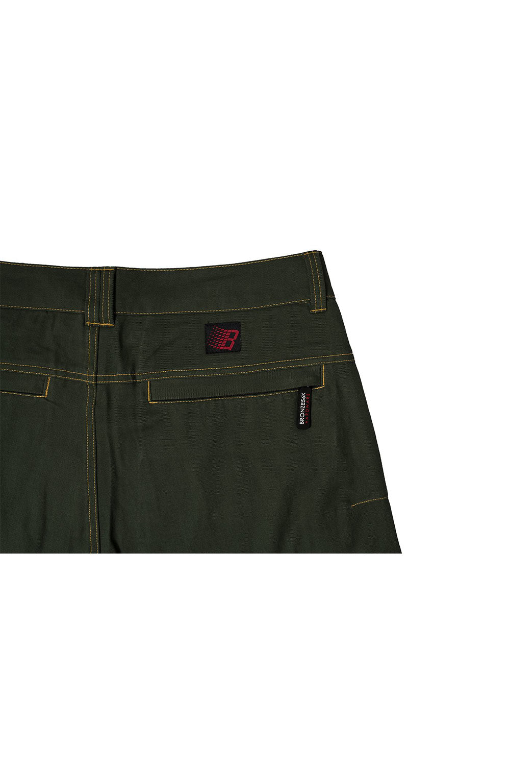 Bronze 56K Zip Tech Pants - Green