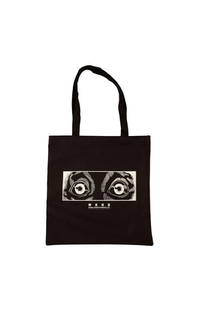 WKND Test Tube Recycled Tote Bag - Black