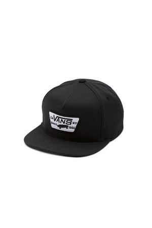 Vans Full Patch Snap Back - True Black | Vans Clothing Online