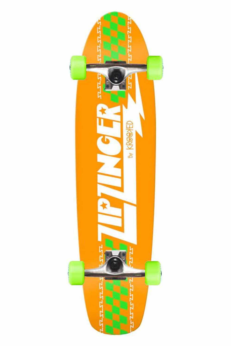Krooked Zip Zinger - Orange - 7.5""