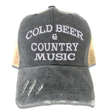 Load image into Gallery viewer, Cold Beer & Country Music