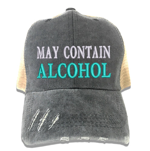 May Contain Alcohol Hat