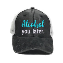 Load image into Gallery viewer, fun-trucker-hats - Alcohol You Later - Trucker Hat