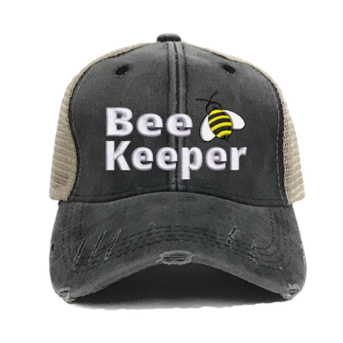 fun-trucker-hats - Bee Keeper - Trucker Hat