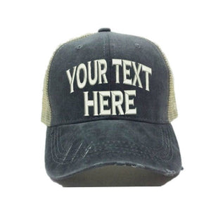 fun-trucker-hats - Your Text Design - Trucker Hat