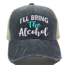 Load image into Gallery viewer, fun-trucker-hats - I'll Bring The Alcohol Hat Set -