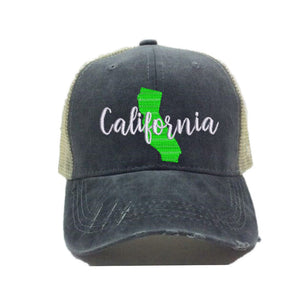 fun-trucker-hats - California State -