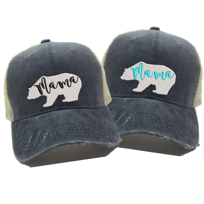 fun-trucker-hats - Mama Bear -