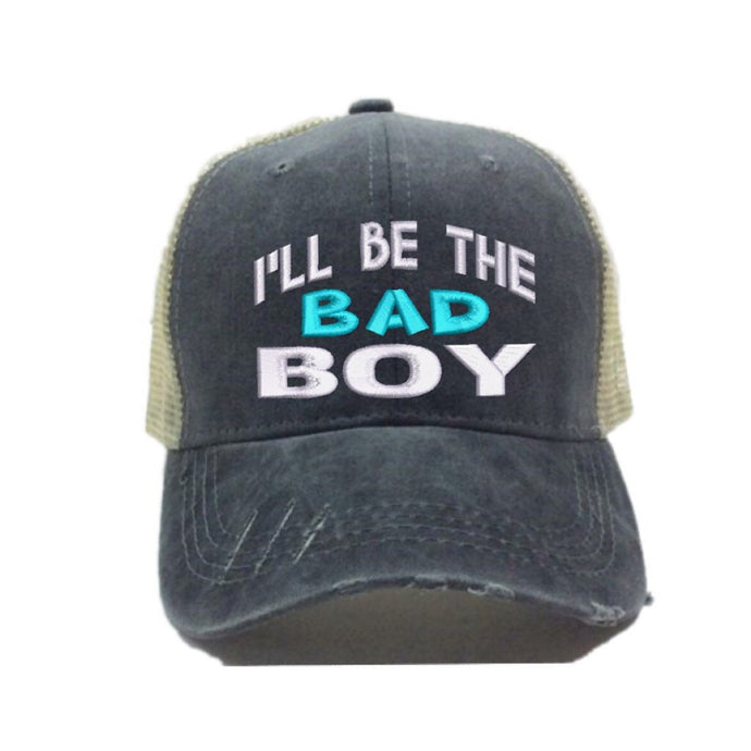fun-trucker-hats - I'll Be The Bad Boy -
