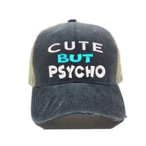 fun-trucker-hats - Cute But Psycho -