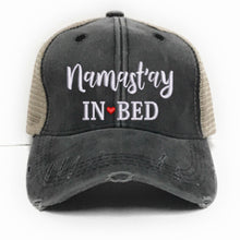 Load image into Gallery viewer, fun-trucker-hats - Namastay In Bed -