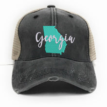 Load image into Gallery viewer, fun-trucker-hats - Georgia State -