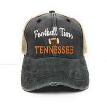 Load image into Gallery viewer, fun-trucker-hats - Football Time In Tennessee -