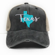 Load image into Gallery viewer, fun-trucker-hats - Texas State -