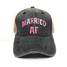 Load image into Gallery viewer, fun-trucker-hats - Married AF -
