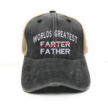 Load image into Gallery viewer, fun-trucker-hats - World's Greatest Father -