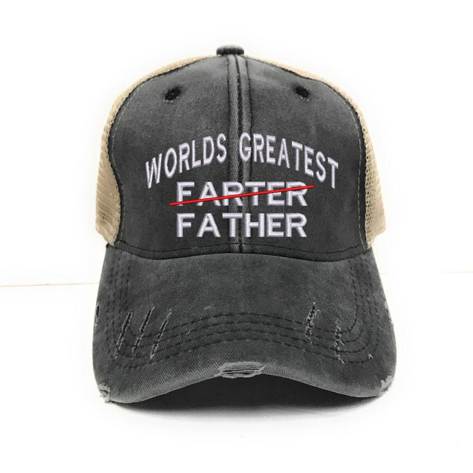 fun-trucker-hats - World's Greatest Father -