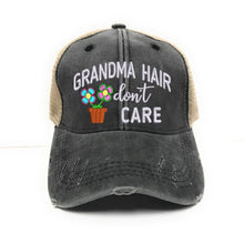 Load image into Gallery viewer, fun-trucker-hats - Grandma Hair Don't Care -