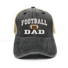 Load image into Gallery viewer, fun-trucker-hats - Football Dad Hat -
