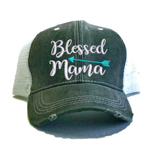Load image into Gallery viewer, fun-trucker-hats - Blessed Mama -