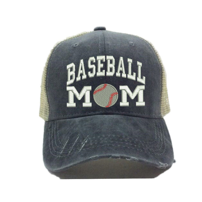 fun-trucker-hats - Baseball Mom Hat -