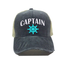 Load image into Gallery viewer, fun-trucker-hats - Captain Hat -
