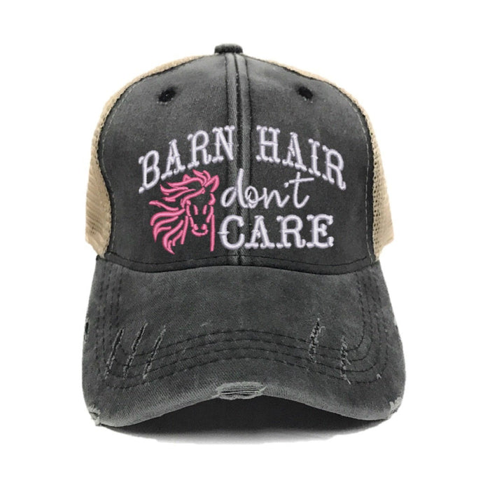 fun-trucker-hats - Barn Hair Don't Care -