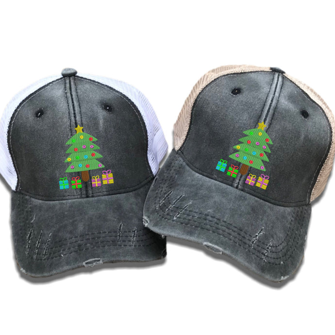 fun-trucker-hats - Christmas Tree -