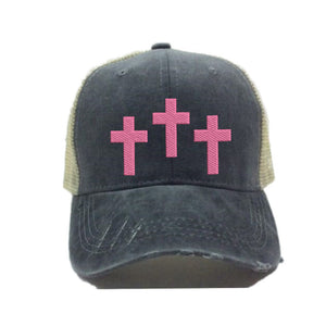 fun-trucker-hats - Three Crosses -