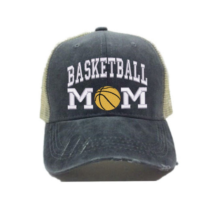 fun-trucker-hats - Basketball Mom -