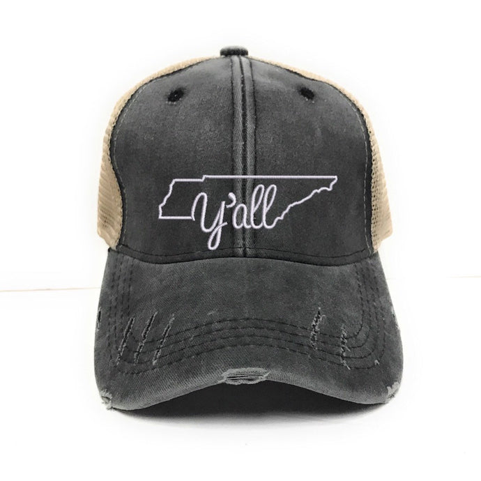 fun-trucker-hats - Tennessee Y'all -