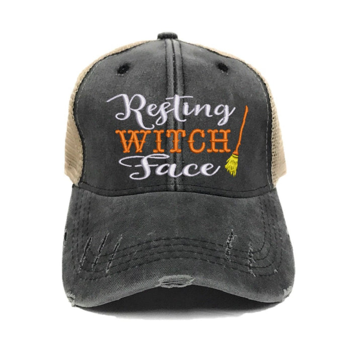 fun-trucker-hats - Resting Witch Face -