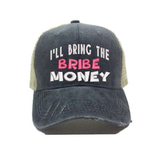 Load image into Gallery viewer, fun-trucker-hats - I'll Bring The Bribe Money -