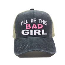 Load image into Gallery viewer, fun-trucker-hats - I'll Be The Bad Girl Alcohol -
