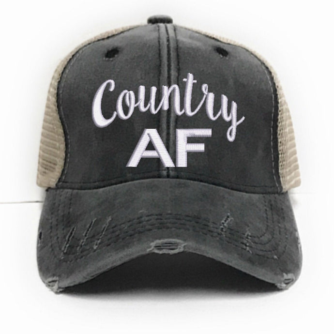 fun-trucker-hats - Country AF -