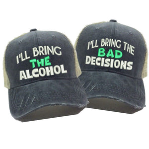 fun-trucker-hats - I'll Bring The Alcohol - Trucker Hat