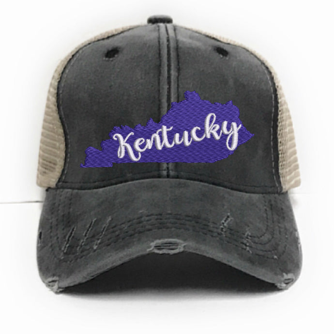 fun-trucker-hats - Kentucky State -