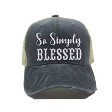 Load image into Gallery viewer, fun-trucker-hats - So Simply Blessed -