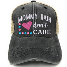 Load image into Gallery viewer, fun-trucker-hats - Mommy Hair Don't Care -
