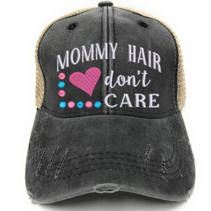 fun-trucker-hats - Mommy Hair Don't Care -