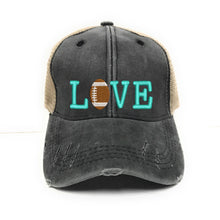 Load image into Gallery viewer, fun-trucker-hats - Love Football -