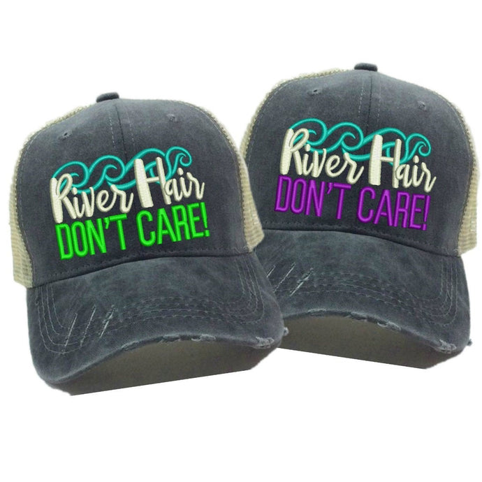 fun-trucker-hats - River Hair Don't Care -