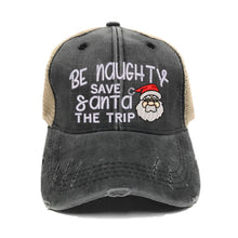 Load image into Gallery viewer, fun-trucker-hats - Be Naughty -