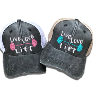 fun-trucker-hats - Live Love Lift Barbells -