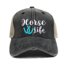 Load image into Gallery viewer, fun-trucker-hats - Horse Life -