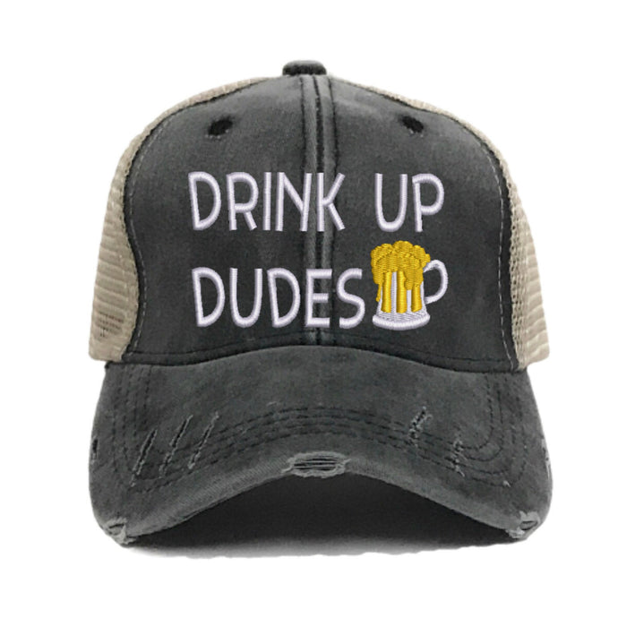 fun-trucker-hats - Drink Up Dudes 2 -