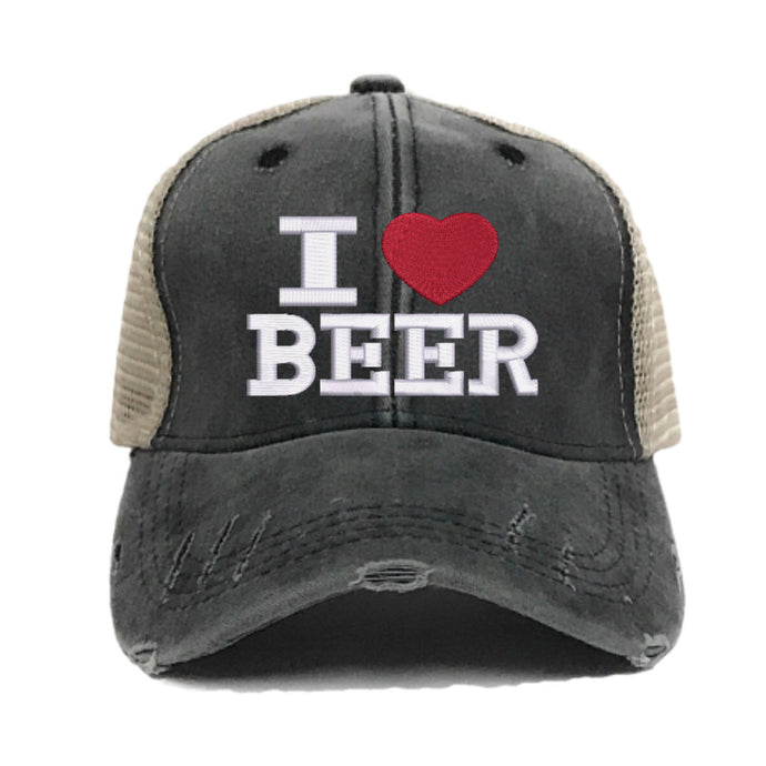fun-trucker-hats - I Love Beer -