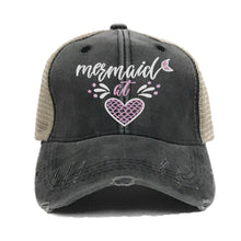 Load image into Gallery viewer, fun-trucker-hats - Mermaid At Heart -