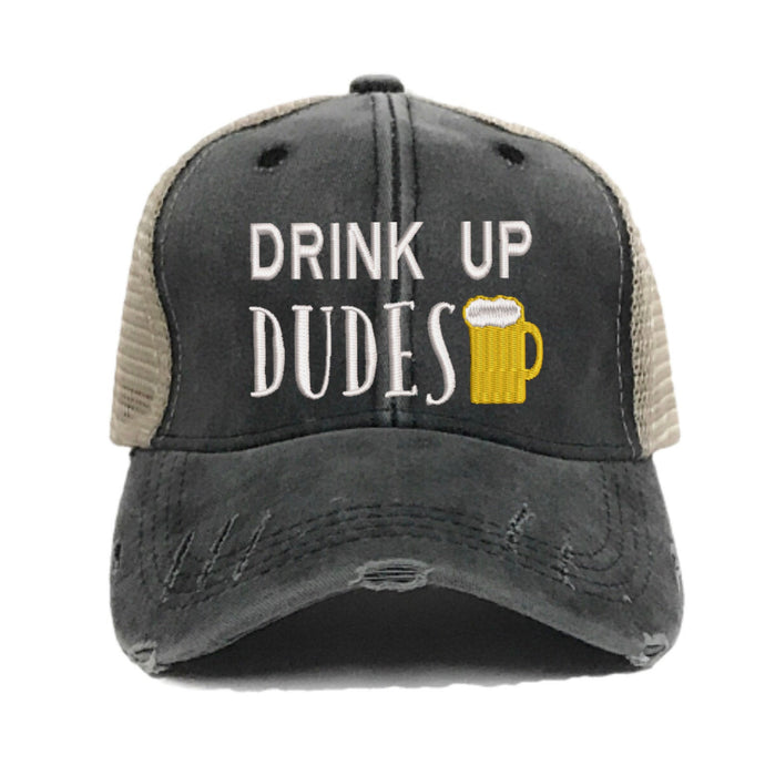 fun-trucker-hats - Drink Up Dudes -