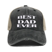 Load image into Gallery viewer, fun-trucker-hats - Best Dad Ever -